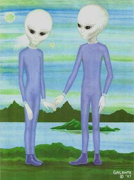 Sassani Beings, Artist Unknown