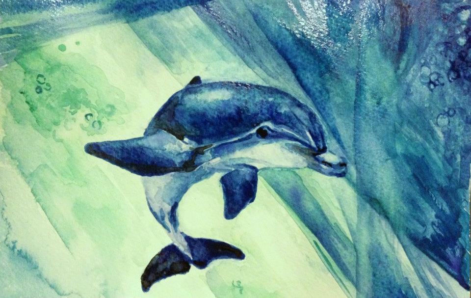 Dolphin Face - Cetacean Alien Race on Earth