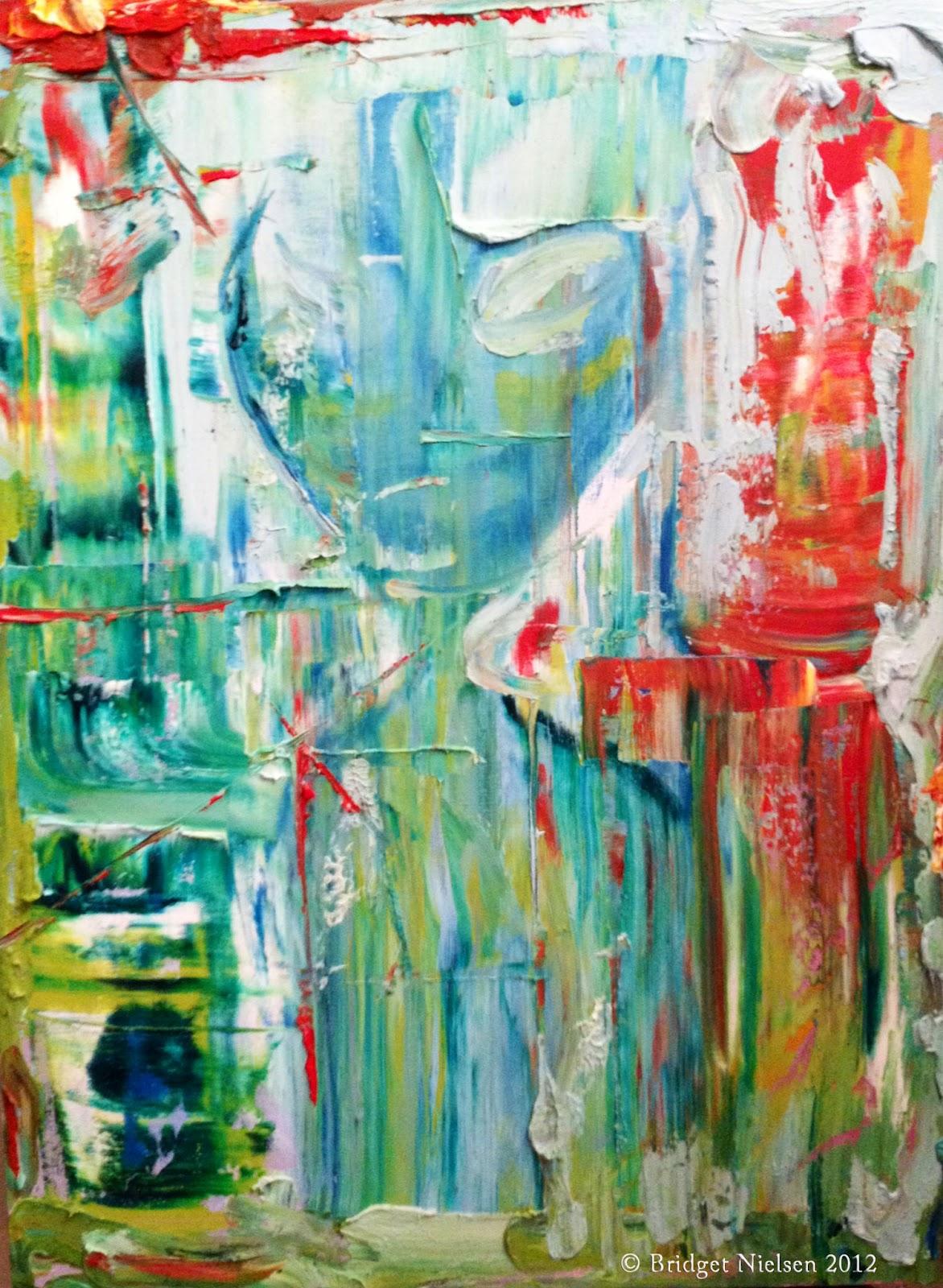 Abstract Grey (Zeta Reticuli) by Bridget Nielsen