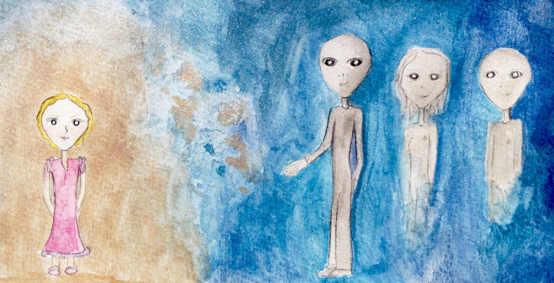 Girl Meeting Sassani Beings