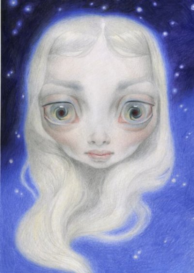 Portrait of Pearl by Ana Bagayan