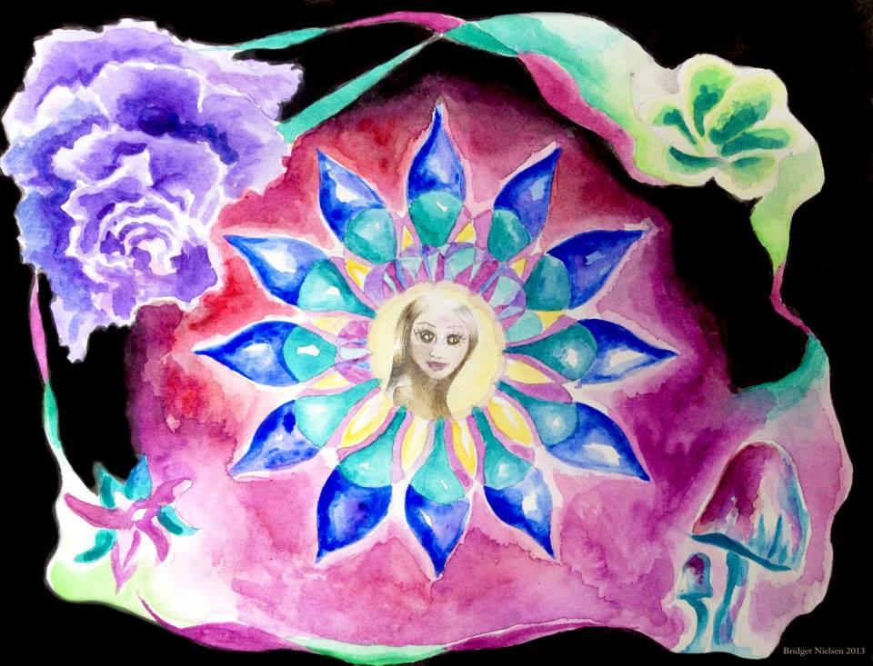 beautiful sacred geometry flower