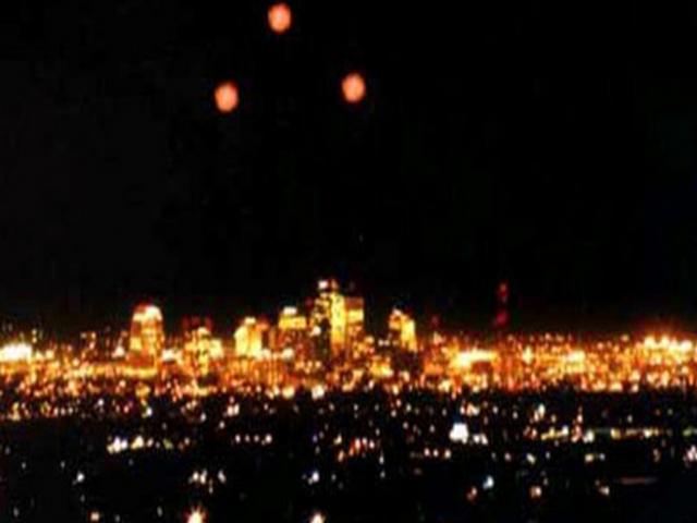 California UFO Sightings. Is it the Shalinaya?