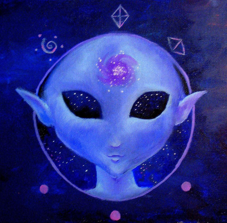 ET Blue Being