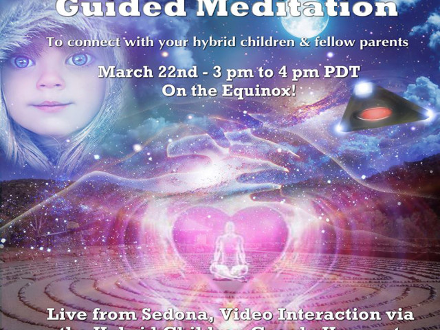 Hybrid Children Hangout & Guided Meditation