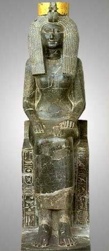 Stone Statue of Isis from Egypt
