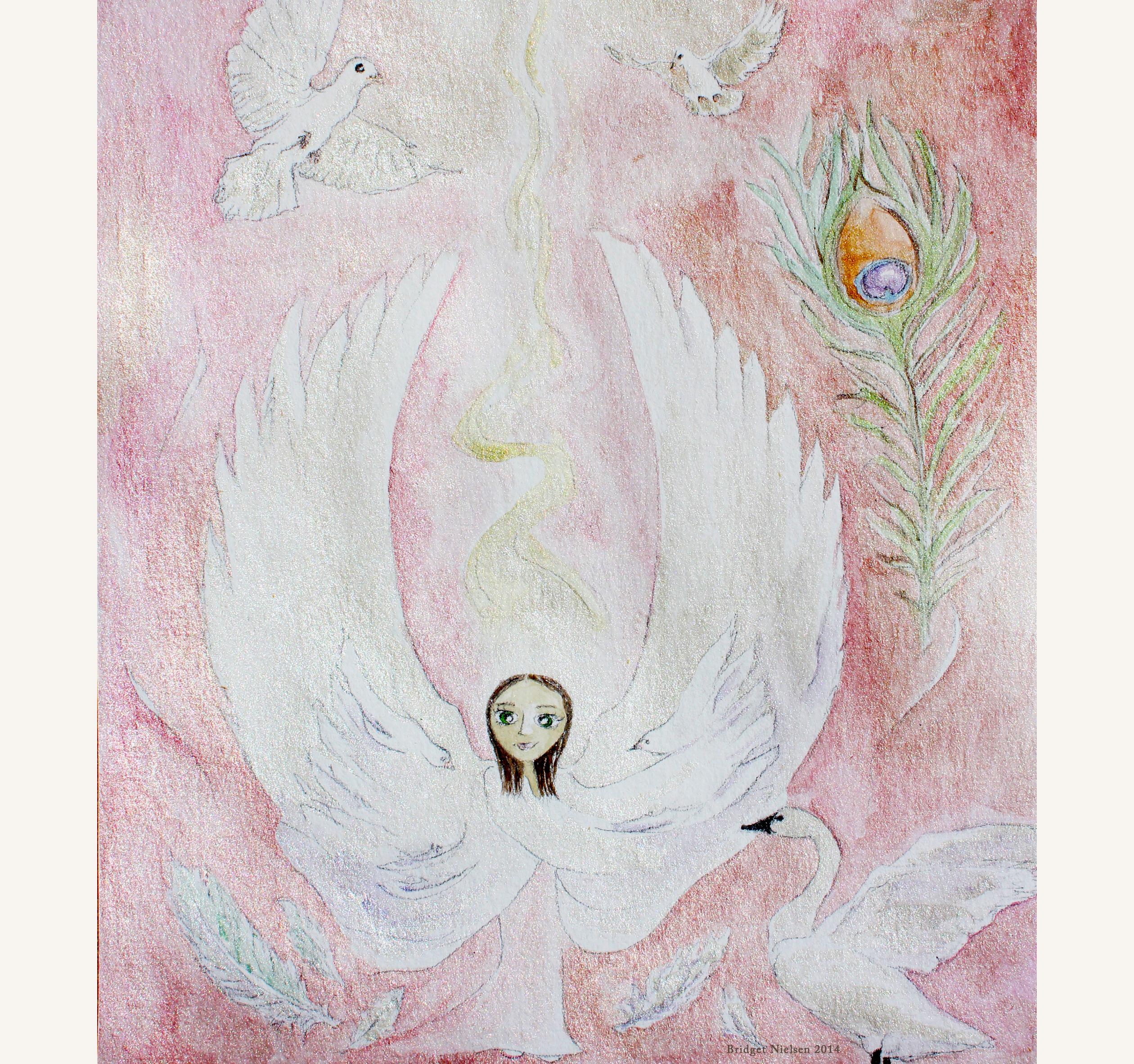 Dove, The Winged Hybrid Girl