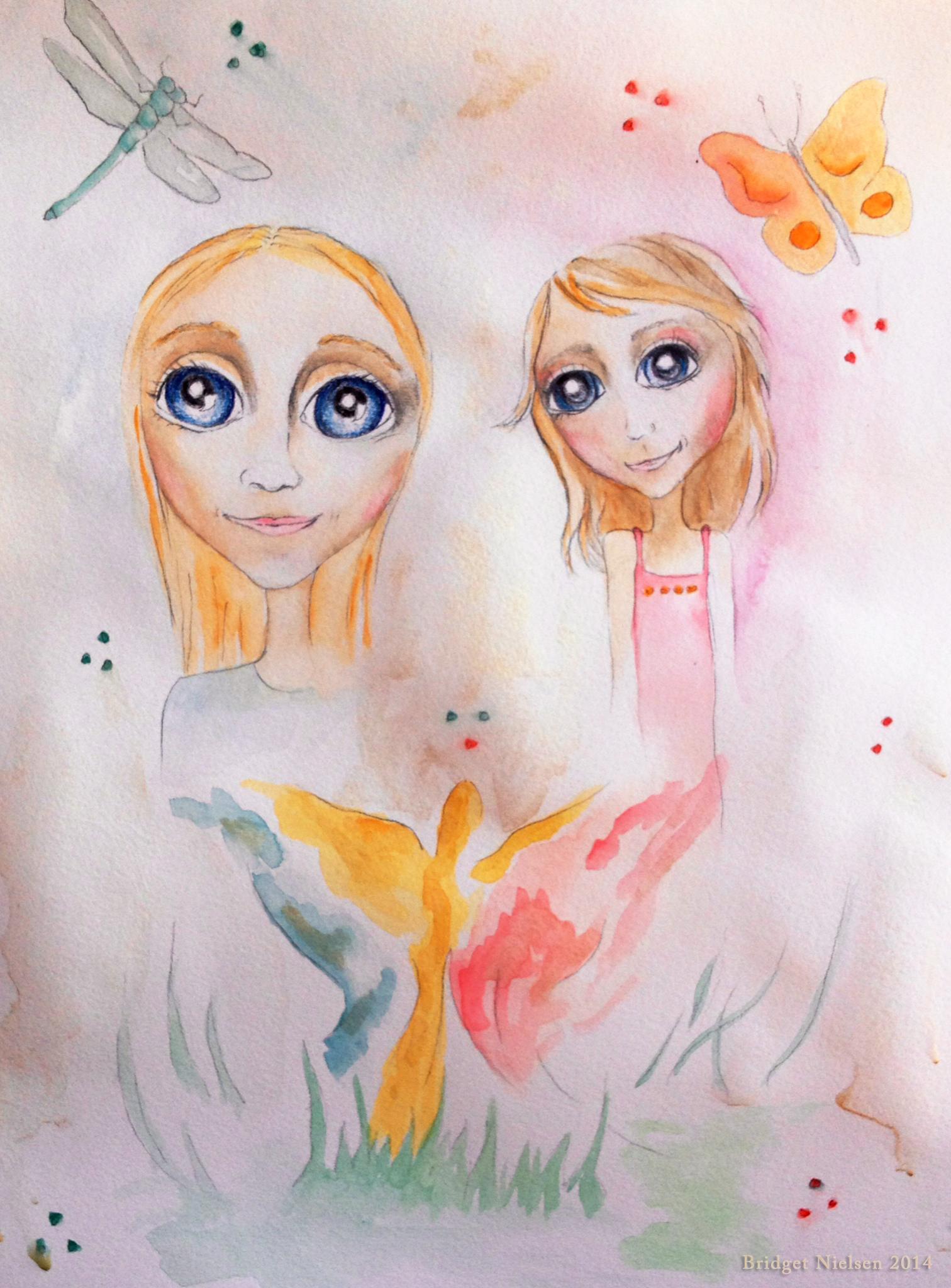 fairies butterflies and alien children