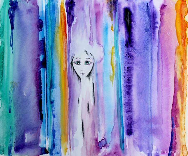 Sara, Hybrid Artist of Light & Color