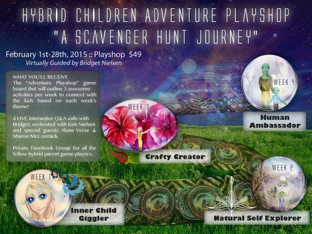 Hybrid Children Adventure (Virtual) Playshop February 1st-28th