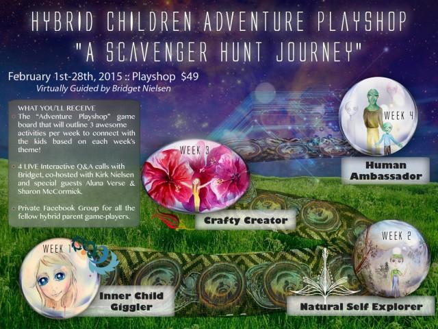 Hybrid Children Adventure (Virtual) Playshop February 1st-28th